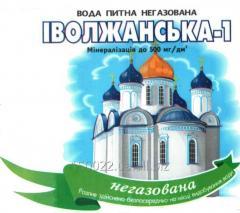 Water Ivolzhanskaya - 1