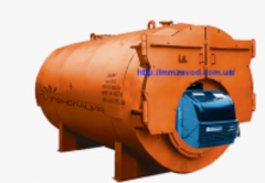 Котлы жаротрубные КСВ - 1-5 МВт