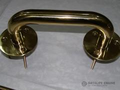 Handles door gilded (a resistant covering nitride