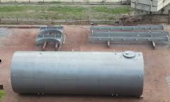 Reservoirs for rain water