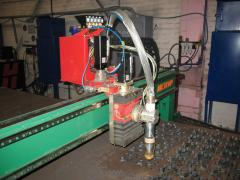 Small-size machine of thermal cutting of the