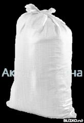 Мешок полипропиленовый 55*105см, 53г, красно-синяя полоса