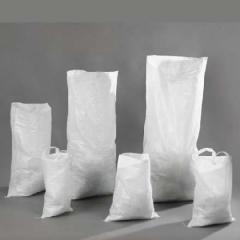 Polypropyleen tas 55 x 73 cm, 25 kg 38 Gr., witte UA, 500pcs/pak