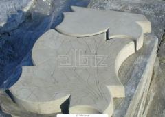 Тротуарная плитка фигурная, Производство