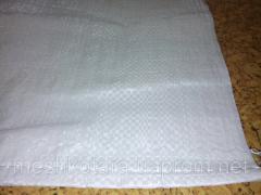 Polypropyleen tas 55 x 105 cm, 50 kg, 58 g, wit, 1000pcs/pak