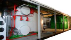 Пароводогрейные котельные установки серии УКМ-ПВГ на базе котлов Е-1,0-0,9 и ВК