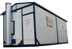 Пароводогрейные транспортабельные котельные установки серии ТКУ