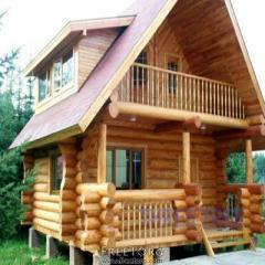 Готовые дома из бруса, дерева купить Украина