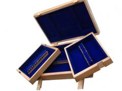 Cases for tableware wooden