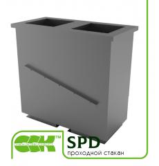 Проходной стакан вентиляционный серии SPD