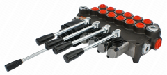 The distributor hydraulic 6L 80L with one joystick