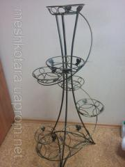 Ovanaja stand for flowers, decorative Tower vases 12