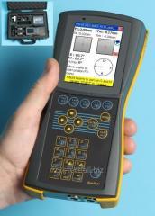 Wireless laser tsentrovshchik of AVV-711