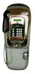 The combined payphone the ROTOR 2000U