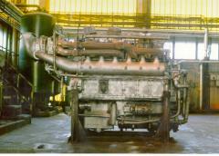Capital repairs of diesels of locomotives