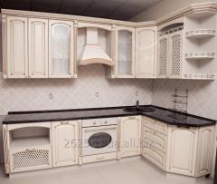 Кухня из массива «Ясень» П