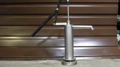 The manual pump for water, the manual piston pump