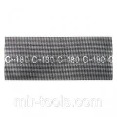 Сетка абразивная 105x280 мм, К80, 10 ед. INTERTOOL KT-6008 Intertool
