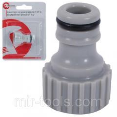 Адаптер для коннектора 1/2 с внутренней резьбой 1/2 INTERTOOL GE-1007 Intertool