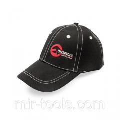 Бейсболка (черная) INTERTOOL PR-0100 Intertool