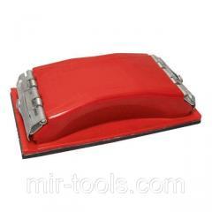 Брусок для шлифования 85x165 мм, металлический зажим для быстрой и надежной фиксации INTERTOOL HT-00 HT-0001