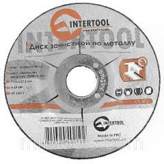 Диск зачистной по металлу 115x6x22,2 мм INTERTOOL CT-4021 Intertool на VSETOOLS.COM.UA