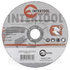 Диск зачистной по металлу 150x6x22,2 мм INTERTOOL CT-4023 Intertool на VSETOOLS.COM.UA