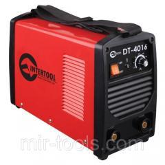 Инвертор 230 В, 5,3 кВт, 30-160 А INTERTOOL DT-4016 Intertool