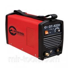 Инвертор cварочный для аргоно-дуговой сварки 230В, 4.5кВт, 10-200А INTERTOOL DT-4220 Intertool