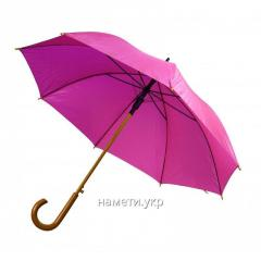 Umbrella cane semiautomatic device pink