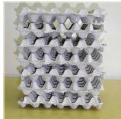 Packing for eggs, the Zhytomyr cardboard TD, Ltd