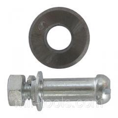 Колесо сменное для плиткореза с осью 16x2x6 мм INTERTOOL HT-0348 Intertool