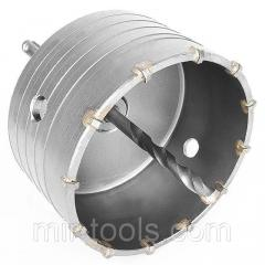 Комплект: сверло корончатое по бетону 105 мм + переходник SDS Plus 100мм INTERTOOL SD-7105 Intertool на VSETOOLS.COM.UA