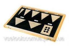 Меры плоского угла №1 кл.1 тип 2и3 ГОСТ 2875-88 ЧИЗ 93 шт. на VSETOOLS.COM.UA 003886