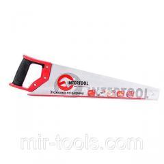 Ножовка по дереву с каленым зубом 450 мм, 55 HRC INTERTOOL HT-3102 Intertool