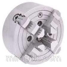 Патрон четырехкул с незав перемещ кулачков Ф250 4-х кул. 4 сквоз. отв. СССР 027664