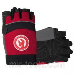 Перчатка Microfiber без пальцев, вставки спандекса и неопрена, эластичный манжет на липучке, 10 INT SP-0142