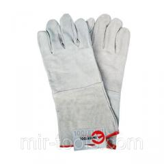 Перчатка замшевая 14 (ящик 60 пар) INTERTOOL SP-0009W Intertool