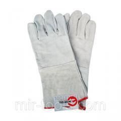 Перчатка замшевая 14 INTERTOOL SP-0009 Intertool