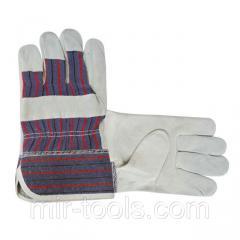 Перчатка замшевая утепленная 10,5 INTERTOOL SP-0154 Intertool