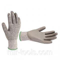 Перчатка порезоустойчивая, 10 INTERTOOL SP-0123 Intertool