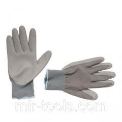 Перчатки трикотажные с нитриловым покрытием, 10 INTERTOOL SP-0122 Intertool