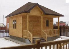 Saunas, baths wooden.