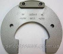 Скоба гладкая листовая с пластинами (твердосплав) 8111-03497 на VSETOOLS.COM.UA 004083