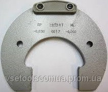 Скоба гладкая листовая с пластинами (твердосплав) 8111-03730 на VSETOOLS.COM.UA 004081