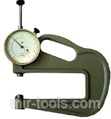 Толщиномер индикаторный ТР 50-400 0-50мм ТУ 25.06.1828-77 СССР на VSETOOLS.COM.UA 019350