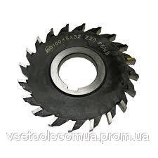 Фреза дисковая 3-я 125х11х32 разн.зуб Т/С напайные