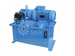 Electro-hydraulic maslostantion