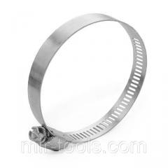 Хомут стальной оцинкованный 12,7 мм D 52-76 мм (упаковка 10 шт) INTERTOOL TC-0152 Intertool