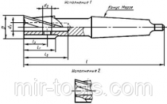 Цековка к/х ф 40 мм без цапфы на VSETOOLS.COM.UA D04395